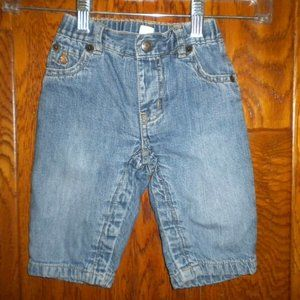 Baby gap infant size 6/12 months lined jeans